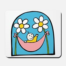 Flower Baby Mousepad
