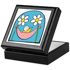 Flower Baby Keepsake Box
