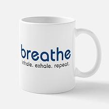 Breathe Small Small Mug