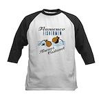 Flamencofish Kids Baseball Jersey