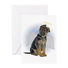 German Shepherd Sympathy Card