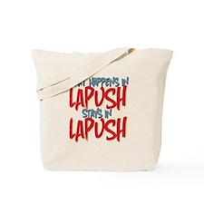 What happens in LaPush Stays In Tote Bag