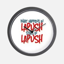 What happens in LaPush Stays In Wall Clock