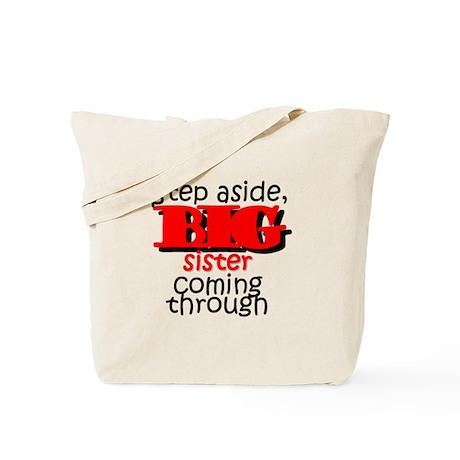 Big Sister Coming Tote Bag