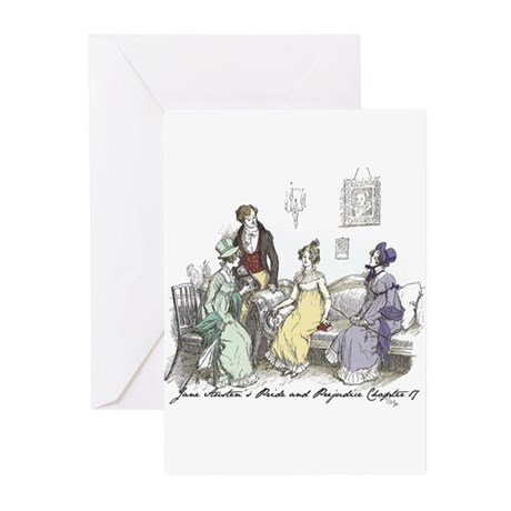 Pride & Prejudice Ch 17 Greeting Cards (Pk of 10)
