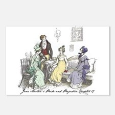 Pride & Prejudice Ch 17 Postcards (Package of 8)