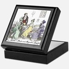 Pride & Prejudice Ch 17 Keepsake Box