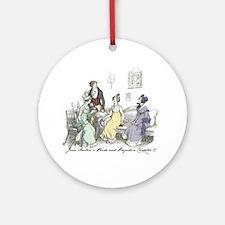 Pride & Prejudice Ch 17 Ornament (Round)