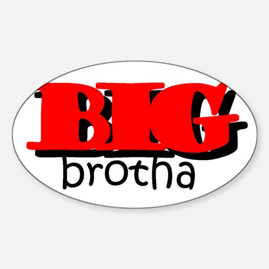 Big Brotha Oval Decal