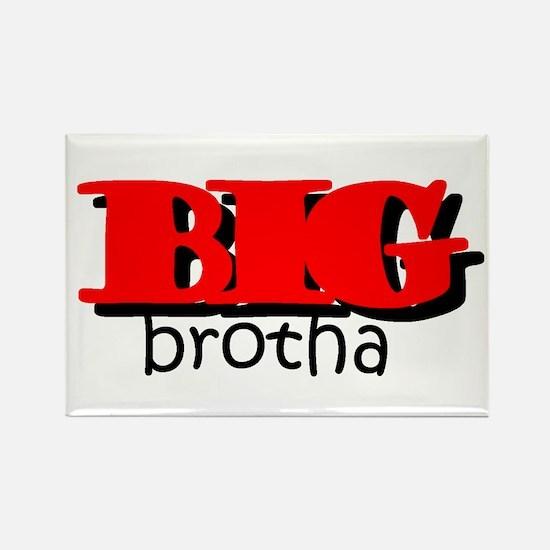 Big Brotha Rectangle Magnet