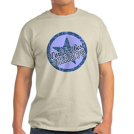Worlds Best Gramps Light T-Shirt