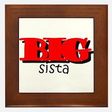 Big Sista Framed Tile