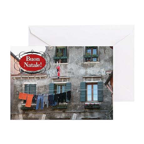 Italian Santa Greeting Cards (Pk of 10)
