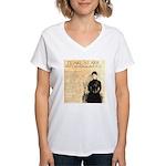 Pearl Starr Women's V-Neck T-Shirt