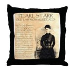 Pearl Starr Throw Pillow