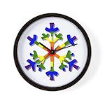 Fruit Flake Wall Clock