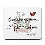 Twilight Quote Mousepad