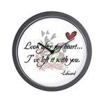 Twilight Quote Wall Clock