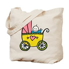 Baby in the Pram Tote Bag