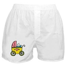 Baby in the Pram Boxer Shorts