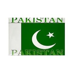 Pakistan Pakistani Flag Rectangle Magnet (100 pack