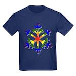 Fruit Flake Kids Dark T-Shirt