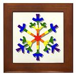 Fruit Flake Framed Tile