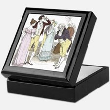 pride & Prejudice Ch 18 Keepsake Box