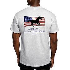 American Miniature Horse Ash Grey T-Shirt