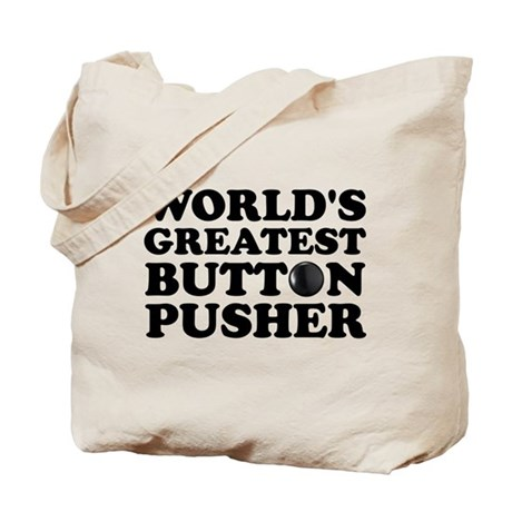 WTD: World's Greatest Button Tote Bag