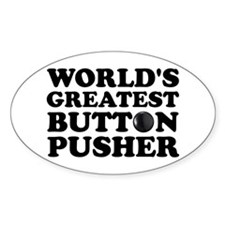 WTD: World's Greatest Button Oval Decal