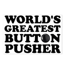 WTD: World's Greatest Button Postcards (Package of