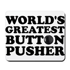 WTD: World's Greatest Button Mousepad