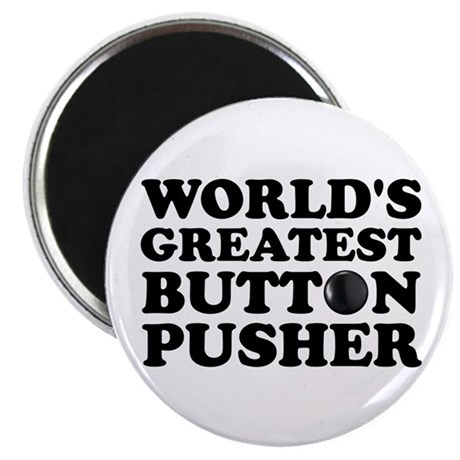WTD: World's Greatest Button Magnet