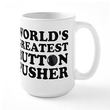 WTD: World's Greatest Button Mug