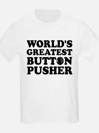 WTD: World's Greatest Button T-Shirt