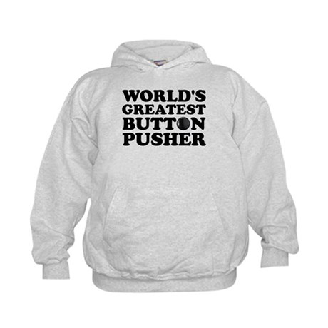 WTD: World's Greatest Button Kids Hoodie