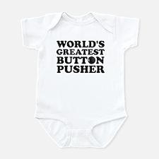 WTD: World's Greatest Button Infant Bodysuit