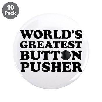 "WTD: World's Greatest Button 3.5"" Button (10"