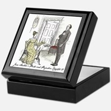 Pride & Prejudice Ch 19 Keepsake Box