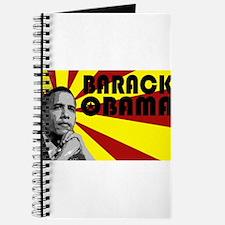Flashy Barack Obama Journal