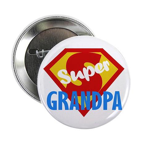 """Super Grandpa 2.25"""" Button"""