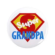 """Super Grandpa 3.5"""" Button"""
