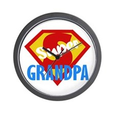 Super Grandpa Wall Clock