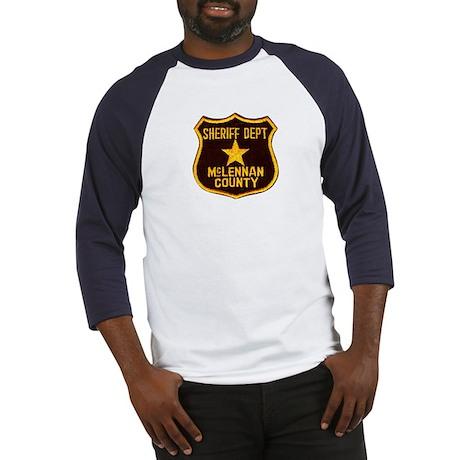 McLennan County Sheriff Baseball Jersey
