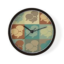 Interpreting Pop Art Wall Clock