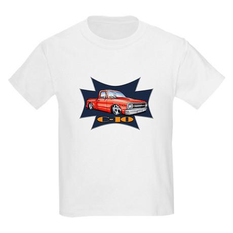 Hot Rod C10 Truck Kids Light T-Shirt