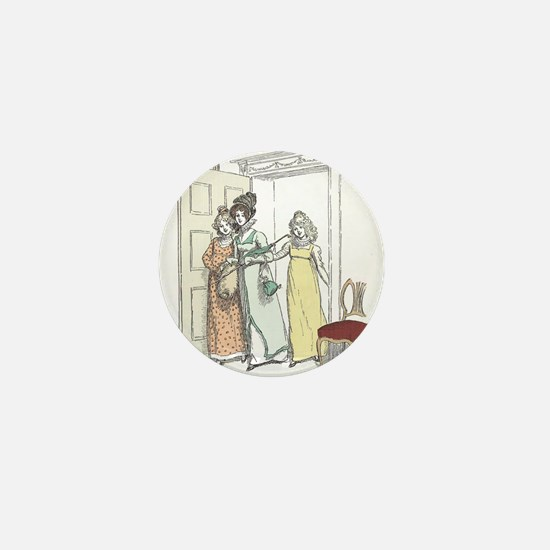 Pride & Prejudice Ch 20 Mini Button
