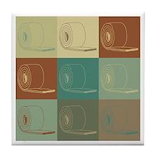 Insulation Pop Art Tile Coaster