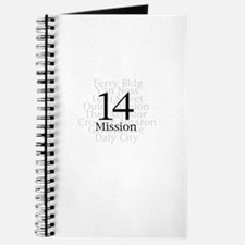Unique California mission Journal
